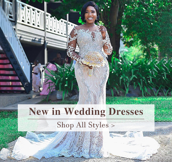 new in wedding dresses