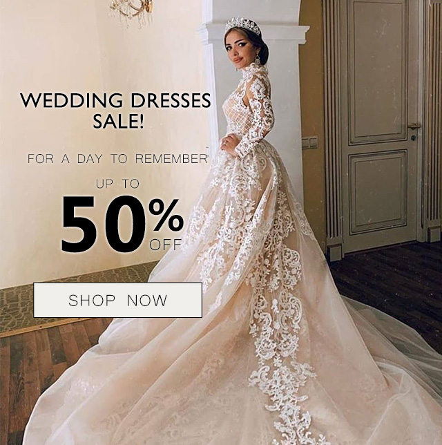 wedding dresses 50% off