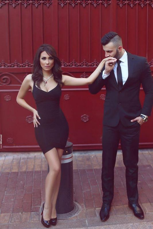 Sexy Black Sweetheart 2020 Cocktail Dress Tight Homecoming Dresses On Sale