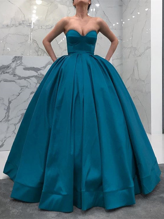 Gorgeous Sweetheart Ball Gown Evening Gowns | 2020 Long Prom Dresses