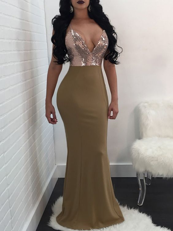 Glamorous Sequins 2020 Evening Gowns | Mermaid Long Prom Dresses