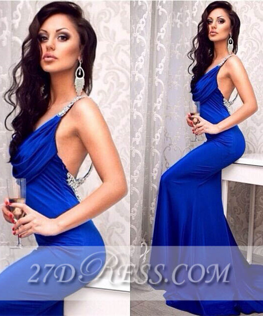 Sexy Elegant Long Corset Prom Dresses Applique Mermaid Party Gowns with Beadings