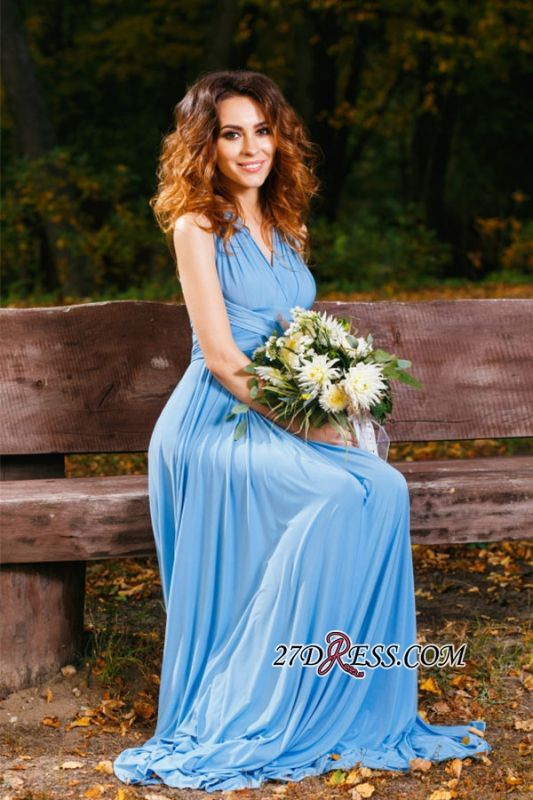 Elegant A-line Covertible Sash Bridesmaid dresses