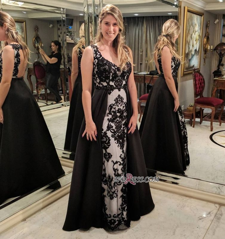 Long black prom dress, 2020 evening dresses for sale