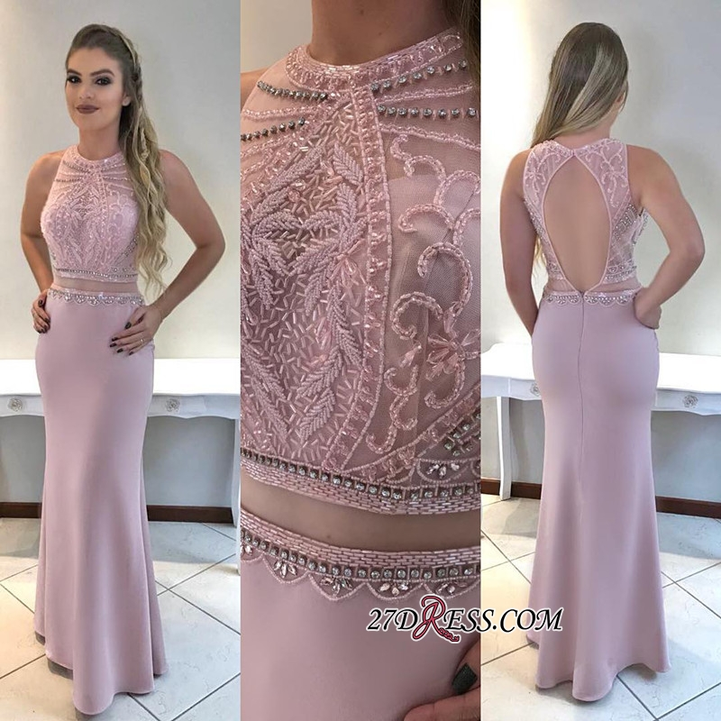 Beadings prom dress, 2020 mermaid evening gowns