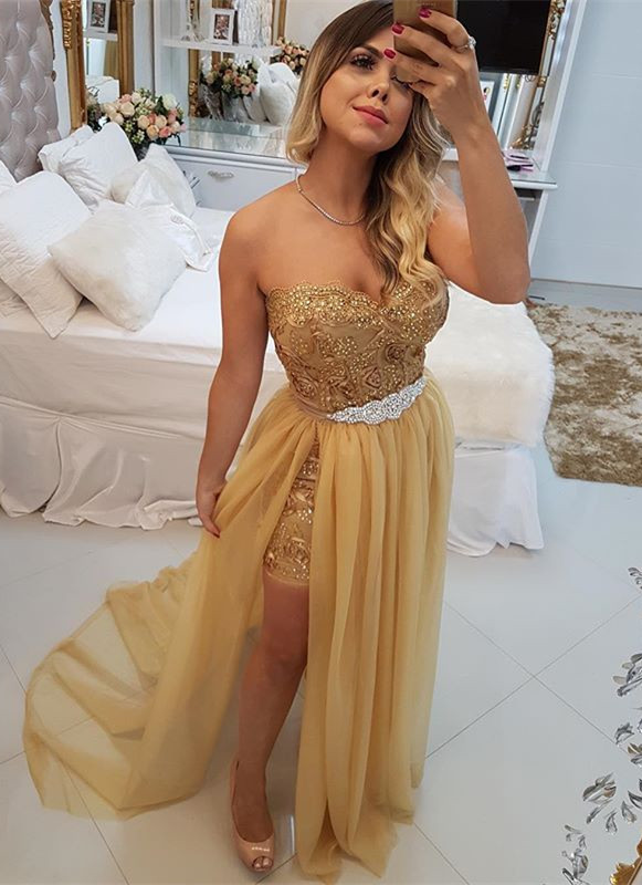 Stunning Sweetheart 2020 Evening Dress | Long Prom Party Dress With Skirt BA9868