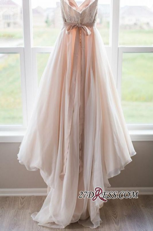 Gorgeous 2020 Sweetheart Lace Zipper Button Back Bridal Gowns