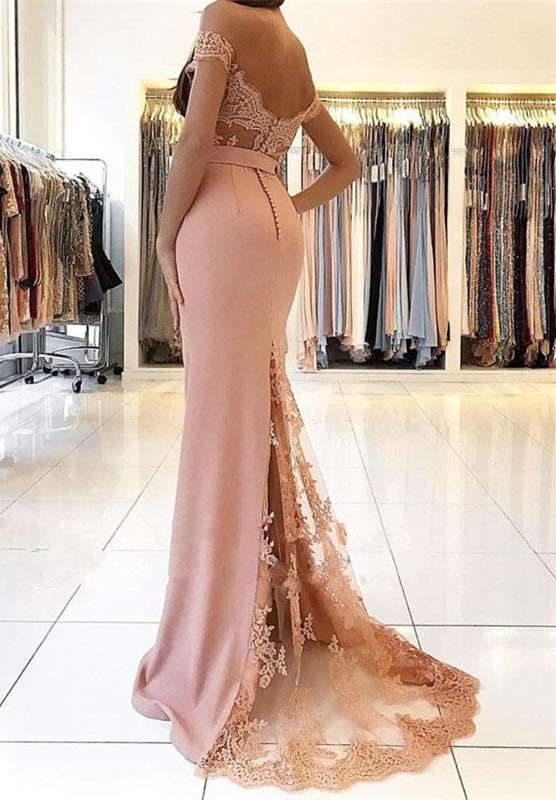 Off-the-Shoulder Mermaid Prom Dress | 2021 Evening Gowns On Sale BA9388_Evening Dresses_Prom & Evening_High Quality Wedding Dresses, Prom Dres