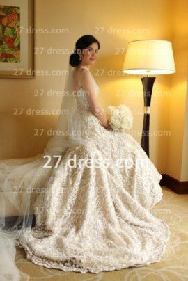 Long Lace Sheer Backless Country Mermaid Wedding Dresses