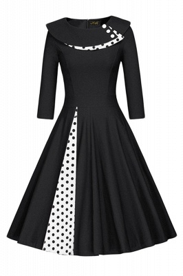 Vintage 1950's Rockabilly Swing Evening Formal Cocktail Party Dress_1