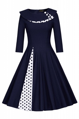Vintage 1950's Rockabilly Swing Evening Formal Cocktail Party Dress_3