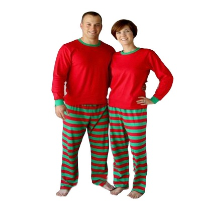 Family Christmas Outfits Pajamas Set stripe|Family Matching Clothes Xmas Gifts | Family Sleepwear 2PCS_16