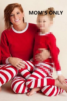 Family Christmas Outfits Pajamas Set stripe|Family Matching Clothes Xmas Gifts | Family Sleepwear 2PCS_2