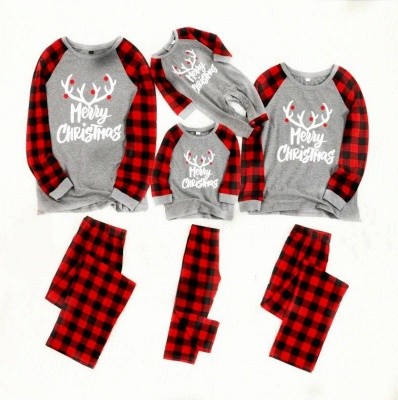 Family Christmas Pajamas Set | Cartoon Print Me Outfits Family Clothes Xmas Gifts_4