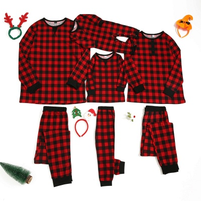 Family Christmas Pajamas Set | Cartoon Print Me Outfits Family Clothes Xmas Gifts_3
