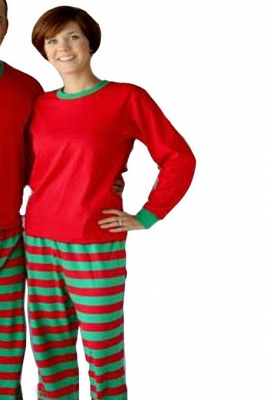 Family Christmas Outfits Pajamas Set stripe|Family Matching Clothes Xmas Gifts | Family Sleepwear 2PCS_5