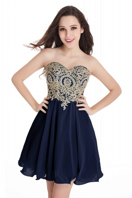 Cheap Short 2020 Mini Sweetheart Appliques Homecoming Dresses_8