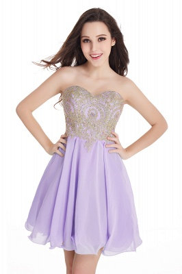 Cheap Short 2020 Mini Sweetheart Appliques Homecoming Dresses_6
