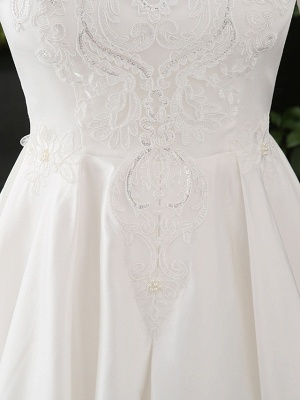 Stylish Short Sleeve Wedding Party Dress Daily Casual Dress for Women_6