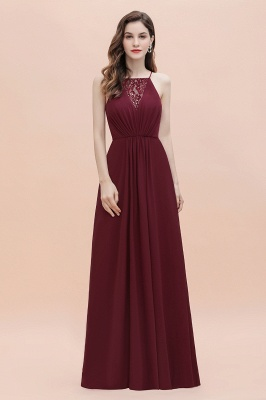 Spaghetti Straps A-lin Evening Maxi Dress Bateau Sequins Party Dress Wedding Guest