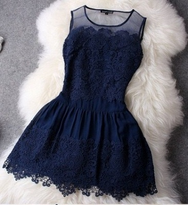 Newest Illusion Sleeveless Short Homecoming Dress With Lace_2