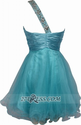 Sexy One-shoulder Sleeveless Short Homecoming Dress With Beadings And Crystals_2