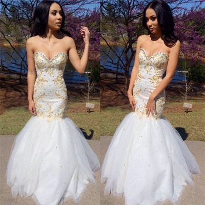 Sweetheart Beadings Prom Dress | Mermaid Long Evening Gowns_3