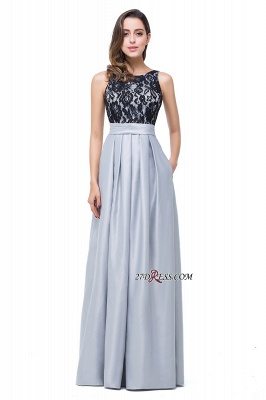 New Back Dress Prom Open Lace A-Line Arrival Bridemaid Dresses_4