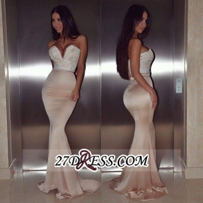 mermaid Lace Gorgeous Sweetheart Floor-Length beadings Evening Dress BA4232_1