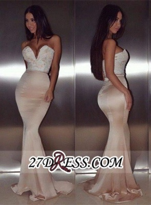 mermaid Lace Gorgeous Sweetheart Floor-Length beadings Evening Dress BA4232_2