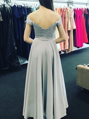 Elegant Off-the-Shoulder 2020 Evening Dress With Lace Appliques_3