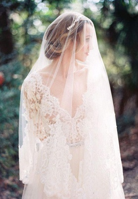 Gorgeous Hal-Sleeve Summer Lace Wedding Dress 2020 Tulle_5