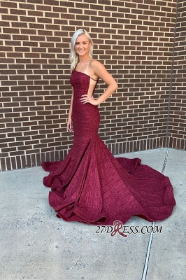 Mermaid Long Alluring One-shoulder Prom Dresses_2