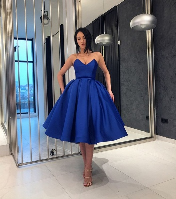 Elegant Sweetheart Short Prom Dresses | 2020 Homecoming Party Gowns_3