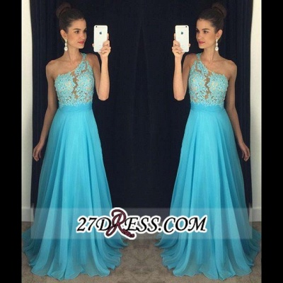 2020 Appliques A-line Lace Gorgeous One-Shoulder Prom Dress AP0 BA4231_2