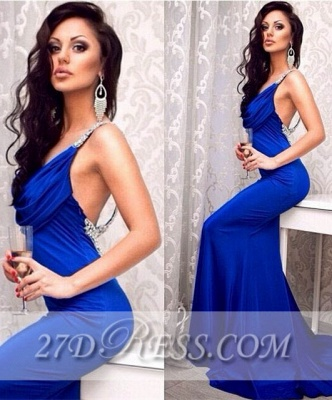 Sexy Elegant Long Corset Prom Dresses Applique Mermaid Party Gowns with Beadings_1