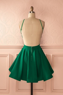Elegant Sleeveless Green 2020 Homecoming Dress Backless Zipper Party Gowns_3