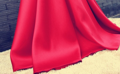 Elegant Red Off-the-shoulder 2020 Prom Dress Bowknot Lace-up_5