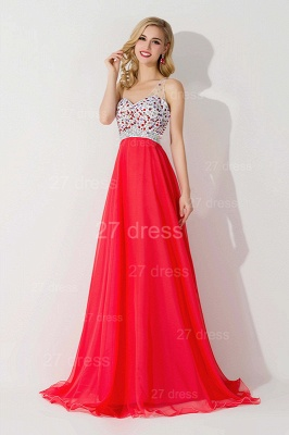 Sexy One Shoulder Crystal Prom Dress Floor Length_3
