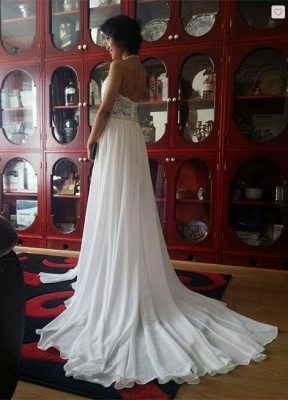 Newest High Neck Elegant Prom dress 2020 Long beadings Chiffon Evening gown With Lace Appliques CPS231_5