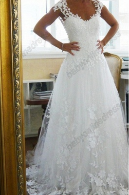 Sexy Lace CustomWedding Dresses 2020 Off the Shoulder Freeshipping Low Price_1