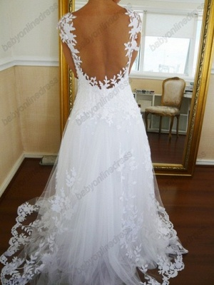Sexy Lace CustomWedding Dresses 2020 Off the Shoulder Freeshipping Low Price_2