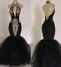 Gorgeous Sleeveless Lace Appliques Prom Dresses | 2020 Green Slit Evening Gowns BC0893_10