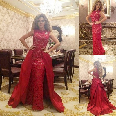 Sexy red designer prom dress on sale removable long evening gowns online_2