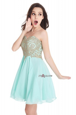 Cheap Short 2020 Mini Sweetheart Appliques Homecoming Dresses_13