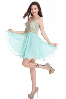 Cheap Short 2020 Mini Sweetheart Appliques Homecoming Dresses_11