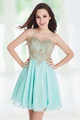 Cheap Short 2020 Mini Sweetheart Appliques Homecoming Dresses_14