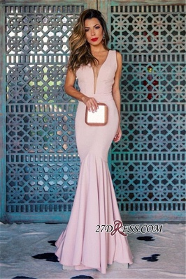 Sleeveless Open Back Prom Dress   2020 Mermaid Evening Party Gowns_3