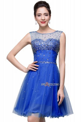 Short Crystal Sleeveless Open-Back Homecoming Dresses_3