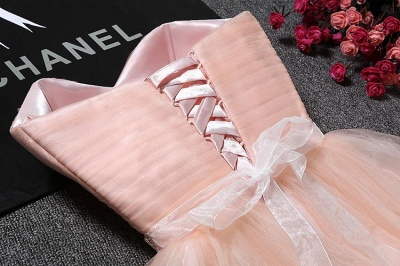 Lovely Sweetheart Prom Dress | 2020 Tulle Lace-Up Short Homecoming Dress_6